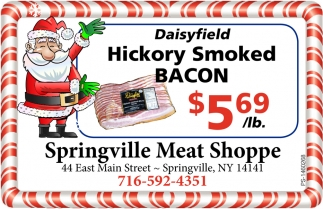Hickory Smoked Bacon
