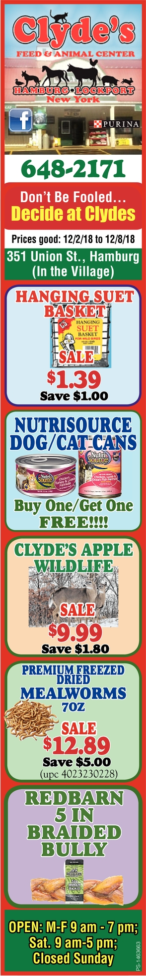 Don't Be Fooled,  Decide At Clyde's