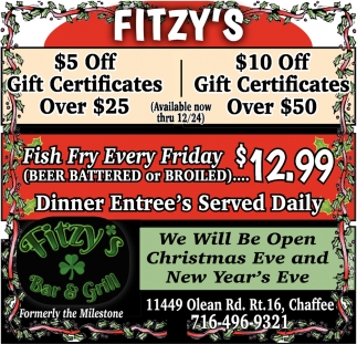 We Will Be Open Christmas Eve