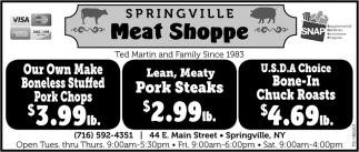 Lean, Meaty Pork Steaks