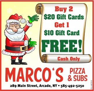 $10 Gift Card Free!