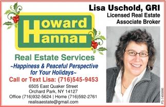 Licensed Real Estate Associate Broker
