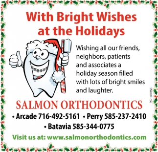 With Bright Wishes At The Holidays