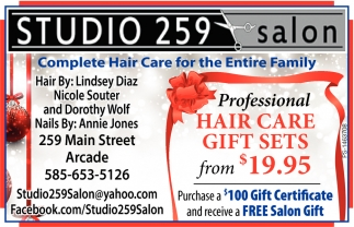 Hair Care Gift Sets