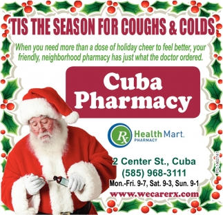 'Tis The Season For Coughs & Colds