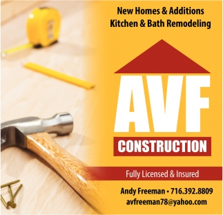 New Homes & Additions, Kitchen & Bath Remodeling