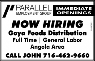 now hiring parallel employment group buffalo ny