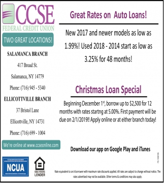 Christmas Loan Special