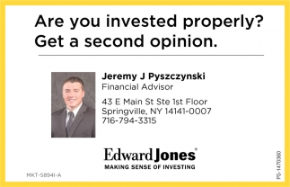Are You Invested Properly?
