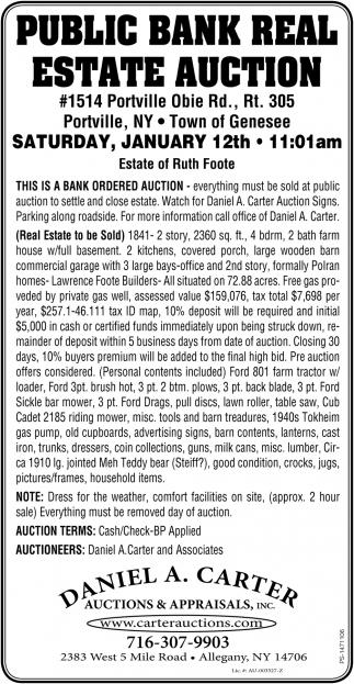 Public Bank Real Estate Auctions