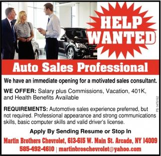 Auto Sales Profesional