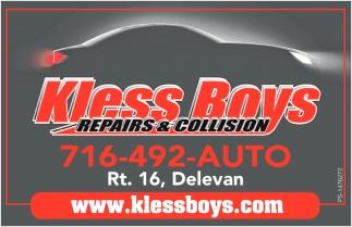 Kless Boys Repairs & Collision