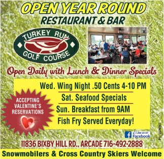 Open Year Round