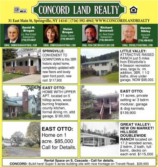 Concord Land Realty