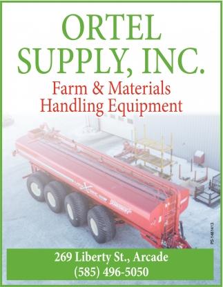 Farm & Materials Handling Equipment
