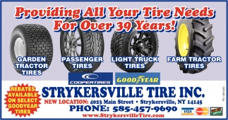 Providing All Your Tire Needs