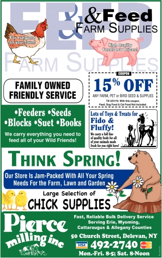 Feed & Farm Supplies