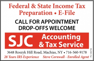 Federal & State Income Tax