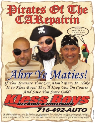 Pirates Of The CARepairin