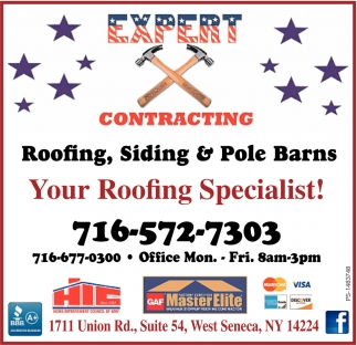 Your Roofing Specialist!