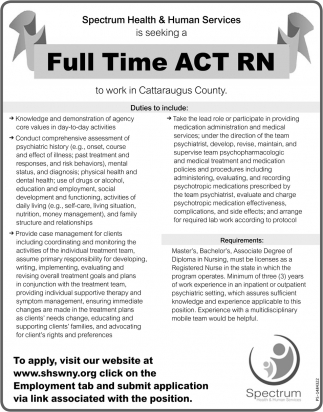 Full Time ACT RN