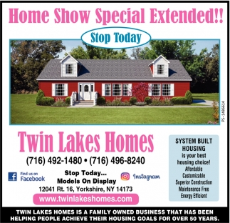 Home Show Special Extended!