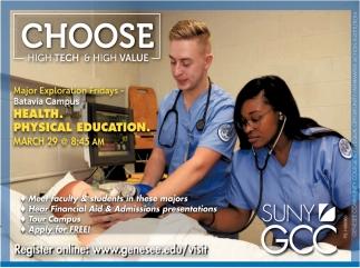 Choose High Tech & High Value