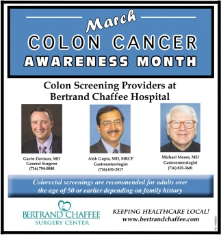 March Colon Cancer Awareness Month