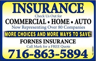 Commercial - Home - Auto