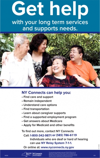 Get Help With Your Long Term Services And Support Needs