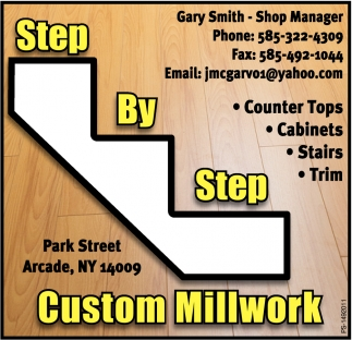 Counter Tops, Cabinets, Stairs, Trim