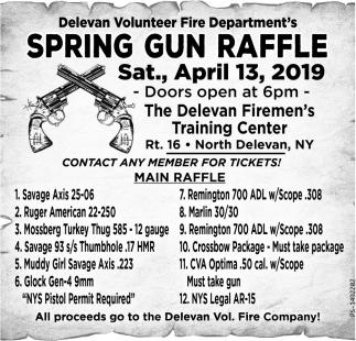 Spring Gun Raffle