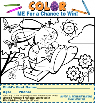 Color Me For A Chance To Win!