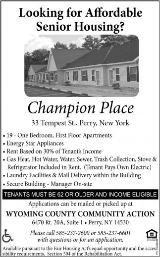 Champion Place