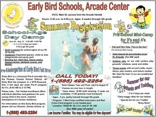 Summer Registration