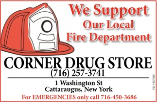 We Support Our Local Fire Department
