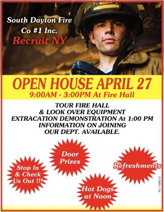 Open House April 27