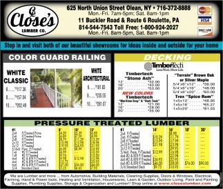 Colo Guard Railing