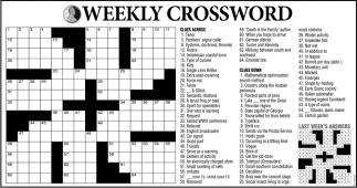 Weekly Crossword!
