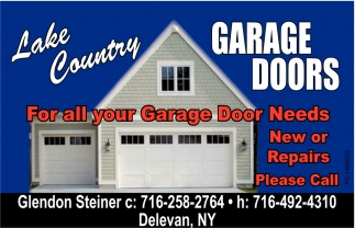 For All Your Garage Door Needs