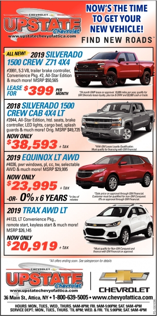 You Can Trust Your Local Chevy Dealer!