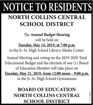 Annual Budget Hearing