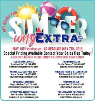 Get Ready For Summer WNY Extra