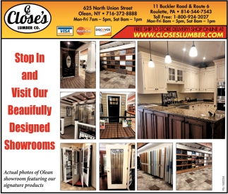 Stop In And Visit Our Beautifully Designed Showrooms