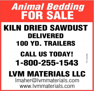 Animal Bedding For Sale
