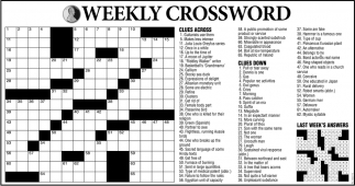 Weekly Crosswords