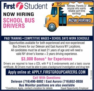 School Bus Driver