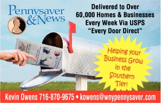 Delivered To Over 60.000 Homes & Businesses