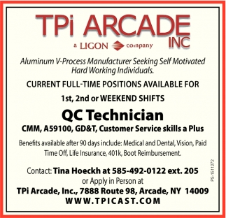QC Technician