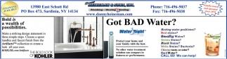 Got Bad Water?